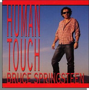 Bruce-Springsteen-Human-Touch-Souls-of-The-Departed-7-034-45-RPM-Single