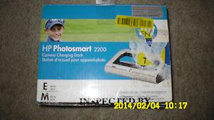 HP-Photosmart-2200-Camera-Charging-Dock-Q6262A-Series-Open-Box-But-New