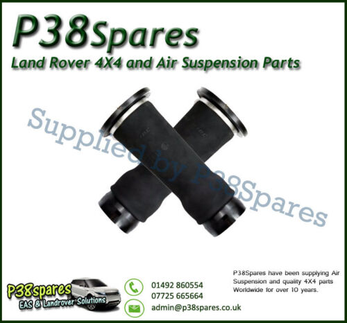 Clips Land Rover Discovery 2 TD5//V8 Rear Air Suspension Springs Bags X2  Dunlop