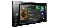 Pioneer Avh-x390bs Double 2 Din Dvd Player 6.2 Lcd Bluetooth Sirius Xm Spotify