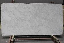 Arbeitsplatte Carrara C Tischplatte Natursteinplatte Steinplatte Marmor weiss