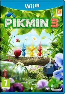 Pikmin-3-Nintendo-Wii-Menta-U-nello-stesso-giorno-spedizione-tramite-consegna-super-veloce
