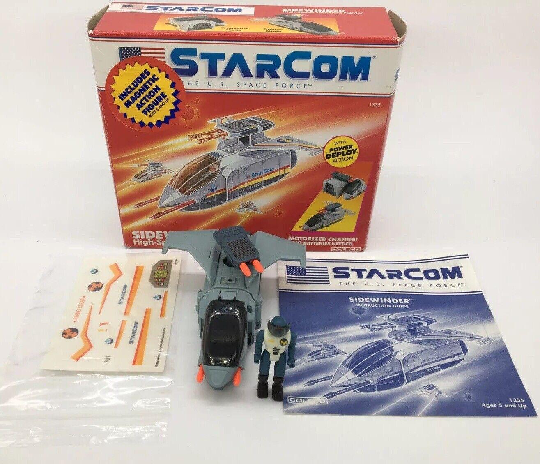 Vintage Starcom Rare Sidewinder Boxed, 1980s,