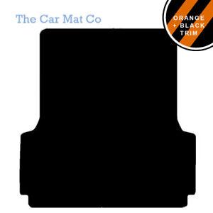 TAILORED CAR FLOOR MATS BLACK CARPET WITH BLACK TRIM FORD RANGER 2012