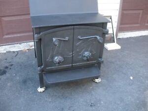 Fisher Wood Stove, Rare Grandma Bear Heater, good Bricks, The Best. | eBay