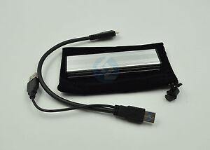 Mach Xtreme Kapsling SSD USB3.0 Enclosure for Macbook Air 2010//2011 SSDs