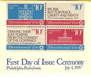 1543-46-First-Day-Ceremony-Program-10c-Bicentennial-Era