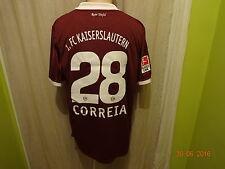 1.FC Kaiserslautern DoYou Football Matchworn Trikot 10/11 + Nr.28 Correia Gr.XL