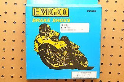 Fits Honda VT400C VT400CA SHADOW CLASSIC 400 09 10 FRONT REAR BRAKE PADS SHOES