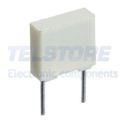 25 PEZZI Condensatore Poliestere 3,3nF 3,3 nF 100V P 5mm