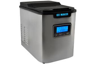 Eiswuerfelmaschine-Ice-Maker-Eiswuerfelbereiter-Eiswuerfel-Zubereiter-2-2-L-5536