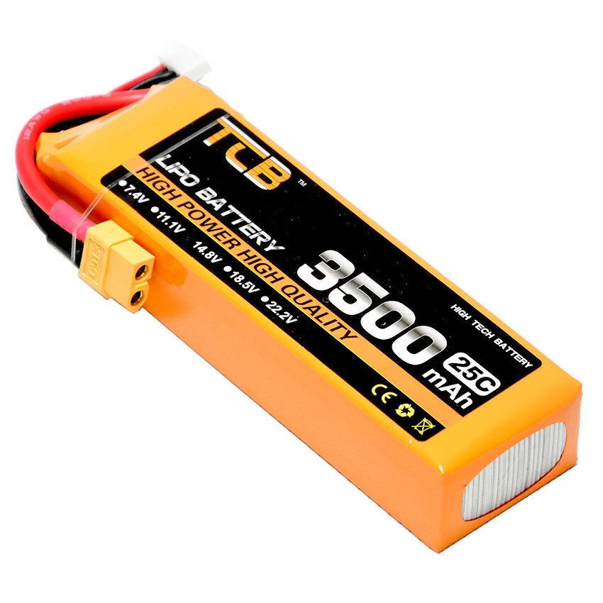 14.8V 4S 3500mAh 25C XT60 plug LiPO Battery Burst 40C RC model Lipolymer power