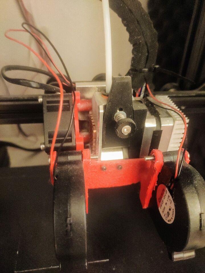 3D Printer, Creality, Ender-3 Pro (modded)