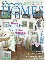 ROMANTIC HOMES,  AUGUST, 2013  ( BEST ROMANTIC STYLE FLEA MARKETS IN AMERICA )