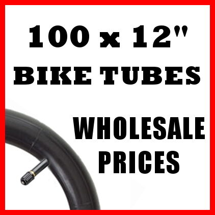 "JOB LOT 100 CYCLE BIKE INNER TUBES 12/"" 12 1.75-2.125"