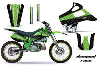 Kawasaki Kx 125/250 Graphic Kit Amr Racing Plates Decal Sticker Part 92-93 Drg
