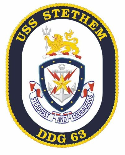 USS Stethem Sticker Military Armed Forces Navy Decal M226