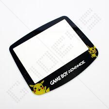 New Pokemon Pikachu Nintendo Game Boy Advance GBA Replacement Screen Plastic
