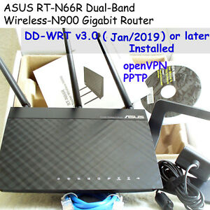 ASUS-RT-N66R-Dual-Band-Wireless-N900-Router-DD-WRT-2019-Jan-or-Antenna-9dBI