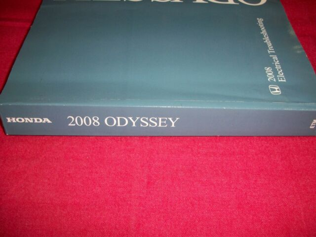 2008 Odyssey Electrical Troubleshooting Manual Honda