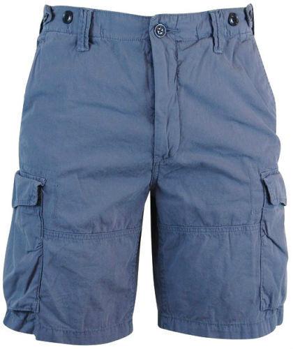 NEW Polo Ralph Lauren  Poplin Utility Fatigue Corporal CARGO shorts blueberry