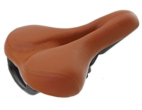 Mountain Bicycle Seats D-518 Brown-216941