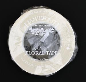 Sugarcraft /& Cake Decorating-White Split Width Floristry Tape-for florist wires