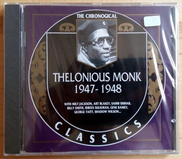 The Chronogical Classics - Thelonious Monk 1947-1948 - Neu! (R)