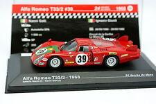 Ixo Presse Collection Le Mans 1/43 - Alfa Romeo T 33 /2 1968