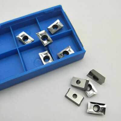 10pcs APKT1135PDFR-MA H01 Milling Cutter Carbide Insert Blade for Aluminum C#