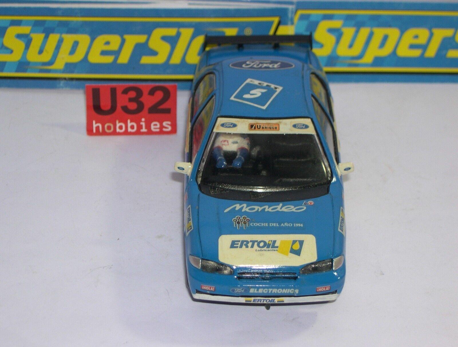 Superslot Ford Mondeo #5 Mez 1994 Jesus Paar Dekoration Handwerklich Unboxed Spielzeug