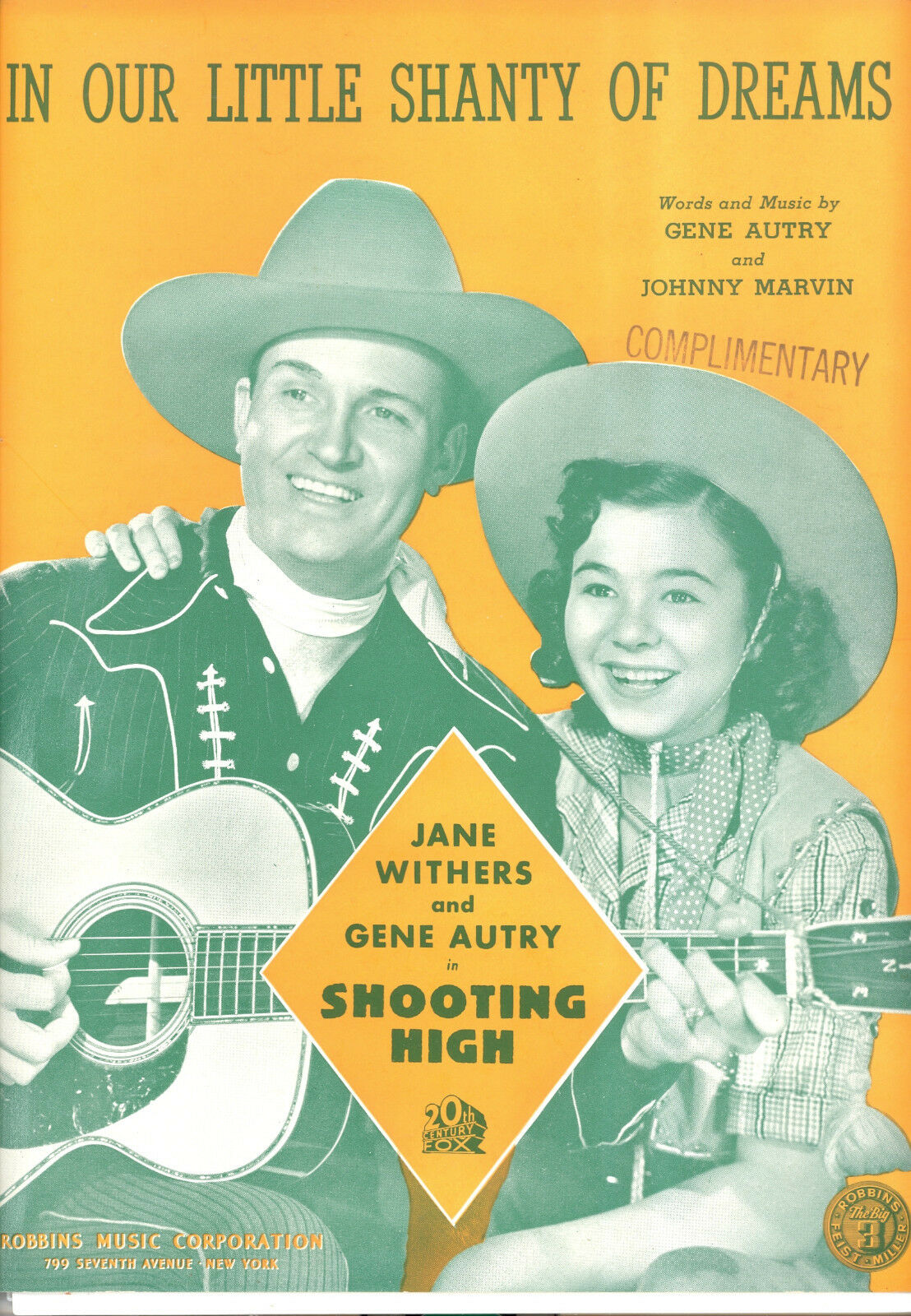Shooting Hoch   in Our Little Shanty Of Dreams   Gene Autry Jane