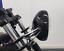 """Moto 7.7 /"""" Phare Noir Brillant 12v 55w pour Rétro Projet Personnalisable Léger"""