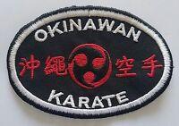 Okinawa Karate Martial Arts Patch - 4 P1580