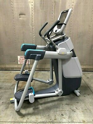 Open Stride Factory Remanufactured Precor AMT 885 with P80 Console