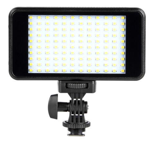 inkl ayex Videoleuchte mit 120 LEDs 3200//6000K Li-Ion Akku und Ladegerät
