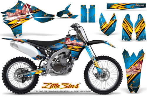 YAMAHA YZ450F 20102013 GRAPHICS KIT CREATORX DECALS LSBLI