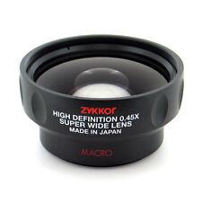 Wide Angle 0.45x + Macro for AF-S DX Nikon / Nikkor 18-55mm AF-S 200-400mm lens
