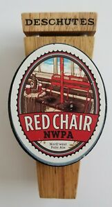 Image is loading Deschutes-Red-Chair-Pale-Ale-Beer-Tap-Handle- & Deschutes Red Chair Pale Ale Beer Tap Handle 5