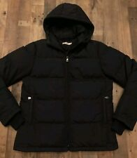 Mens Black Premium Down Prada Puff Jacket Sz: Medium