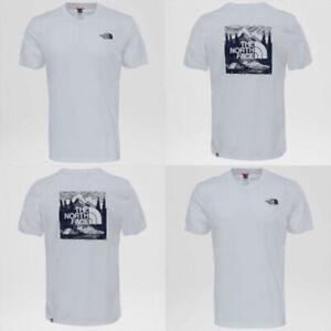 T-shirt-M-M-uomo-THE-NORTH-FACE-Red-Box-Celebration-Col-TNF-White-P-E-19