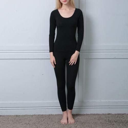 New Womens /& Ladies Basic Thermal Underwear Warm Winter Ski Long Johns Set