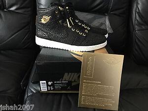 5 Jordan 7 1 Nike 12 8 Noir Air Pinnacle 2015 Taille Or Uk 9 Nouveau SwAvxEq
