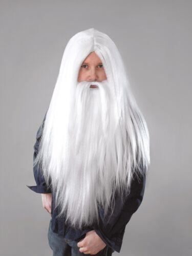Wizard Beard Long White