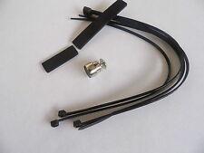 Bicycle Computer Magnet, Universal, Replacement, Spoke Fit + Zip Ties