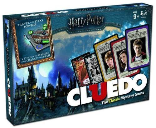 Harry potter - cluedo gioco da la nuovo regalo ideale 9 + 3 - 5 giocatori