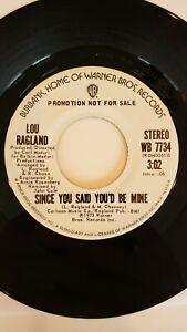 Lou Ragland - Since You Said You'd Be Mine - WB -VG++ - N / Soul / Mod