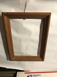 Vintage-Oak-Solid-Picture-Frame-Fits-10-by-14-Painting