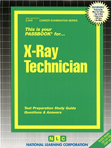 National Learning Corporation-X-Ray Technician BOOK NEW