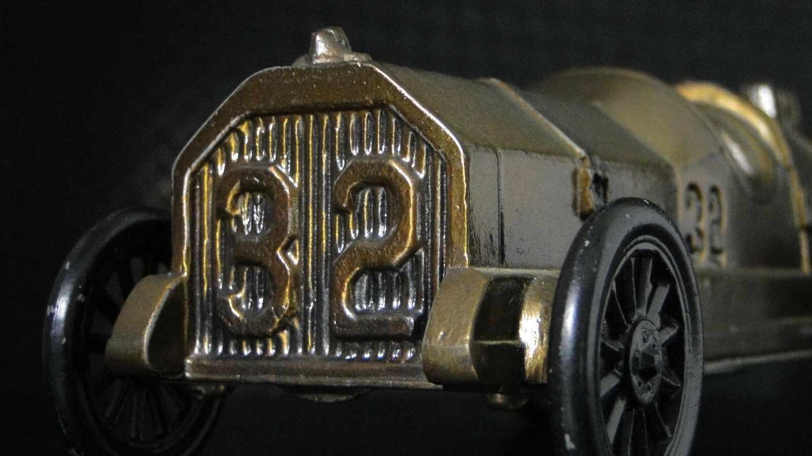 Indy GP Race Car  Ford F 1 24 Vintage Vintage Vintage Antique Metal 18 Carousel Bronze 06a01c